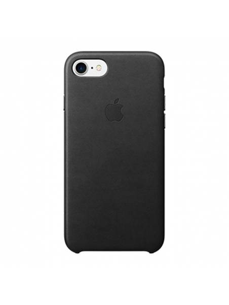 Leather case for iPhone 8 Plus / 7 Plus - Black
