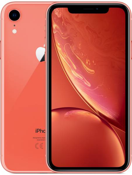 iPhone Xr: 64GB - Coral