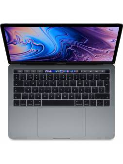 13-inch MacBook Pro: 2,4-GHz quad-core processor with Turbo Boost up to 4.1GHz - 512GB - Touch Bar and Touch ID - Space Gray