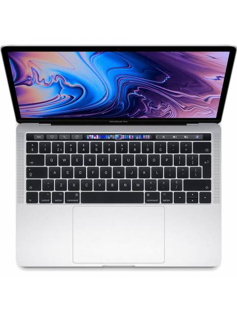 "Apple MacBook Pro 13"" Touch Bar (2019) MV9A2N/A 512GB Zilver"