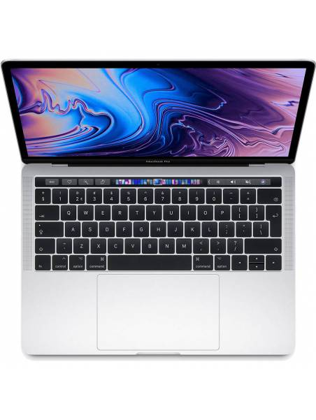 13-inch MacBook Pro: 1,4-GHz quad-core processor with Turbo Boost up to 3.9GHz - 128GB - Touch Bar and Touch ID - Silver