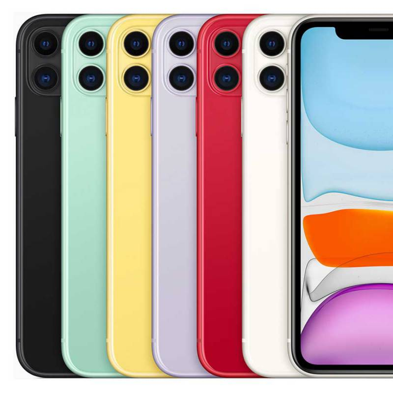 Apple iPhone 11 (2019) 128 GB Wit