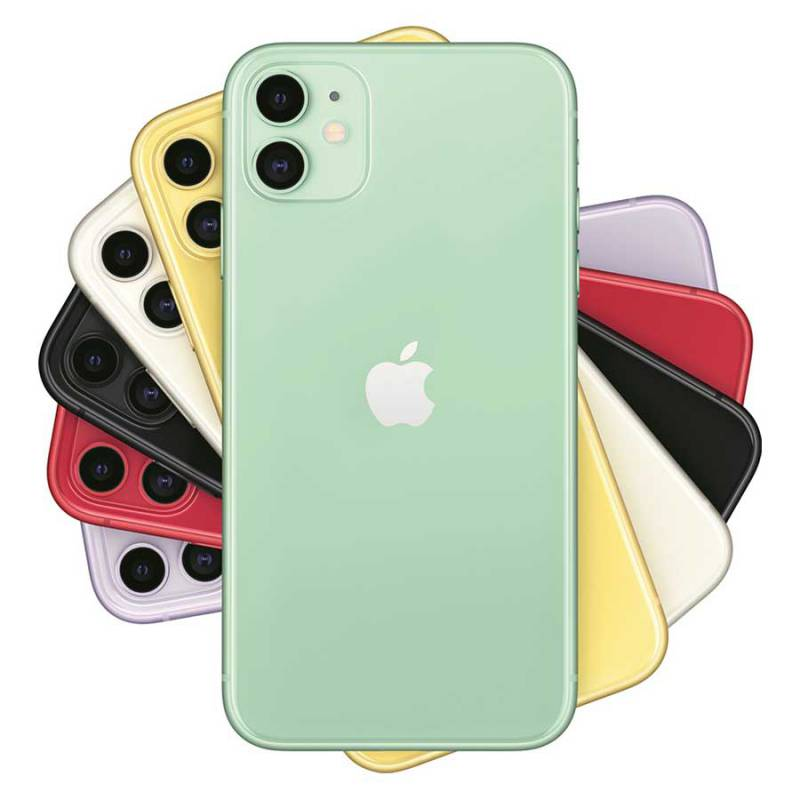Apple iPhone 11 (2019) 128 GB Groen