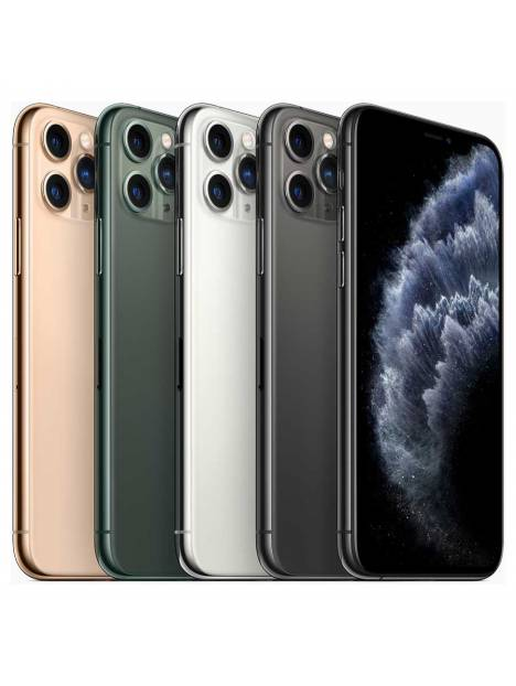 Apple iPhone 11 Pro Max (2019) 256 GB Middernachtgroen