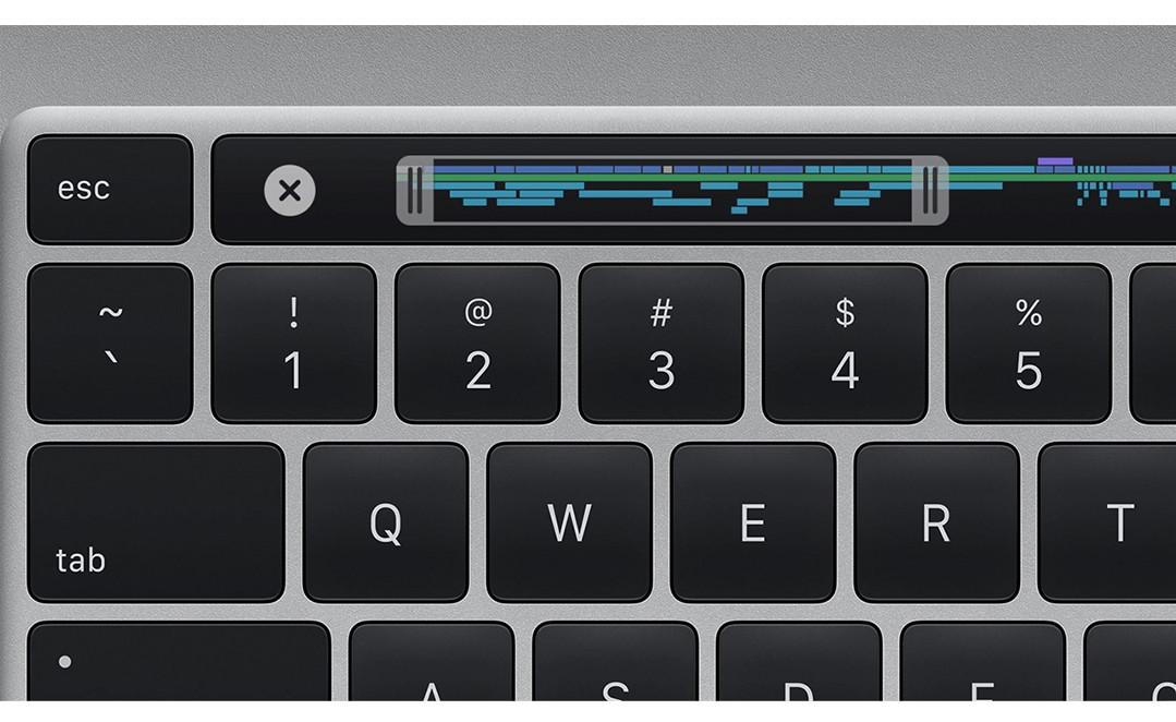 MacBook Pro 16 inch vernieuwd toetsenbord