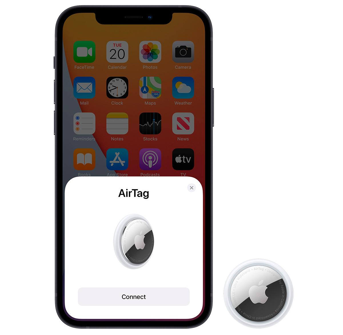 Apple Airtags pairing