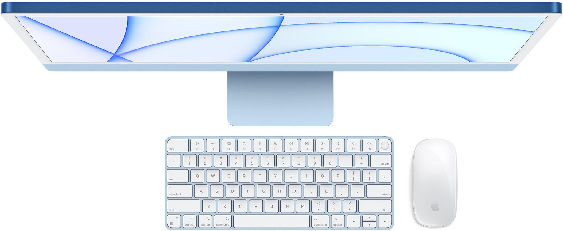 iMac 24 inch 2021 in the box