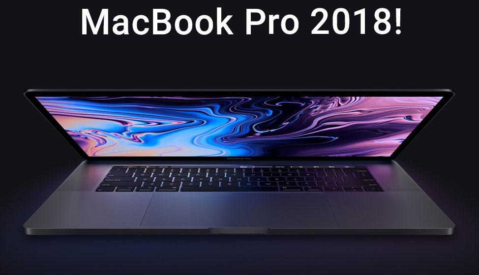 Nieuwe MacBook Pro 2018