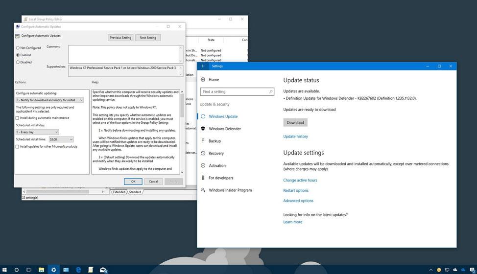 Hoe kan ik Windows 10 auto updates stoppen
