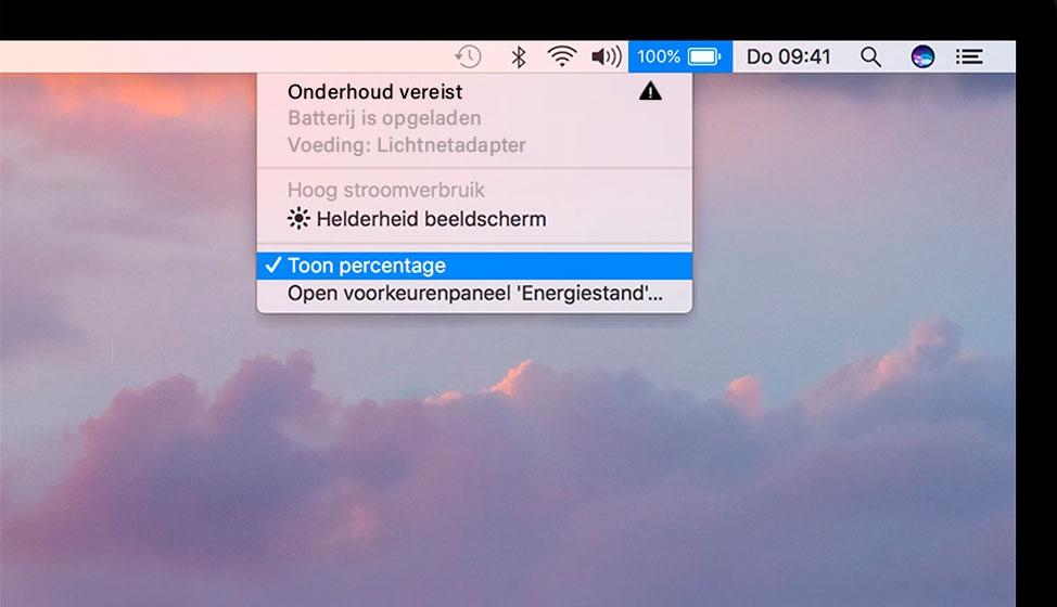 """MacBook batterij te snel leeg of meldingen over """"Vervang Batterij"""" oplossen"""