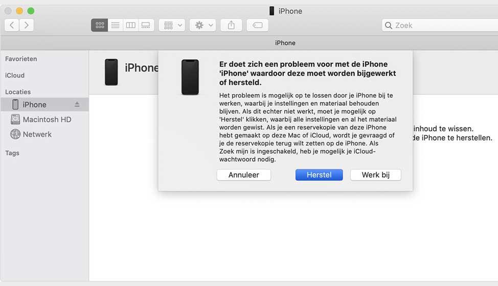 Inlogcode iPhone kwijt of vergeten?